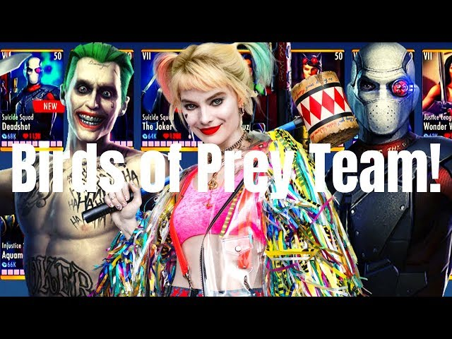 The New Birds Of Prey Team Injustice Gods Among Us 3 2 Ios Android Youtube