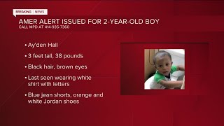 AMBER Alert activated for missing Milwaukee 2-year-old