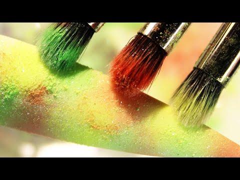 1_ (How-To) Sheer Water Drops 3-D Nail Art