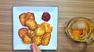 강판 없이 만드는 감자 간단요리 - 감자전