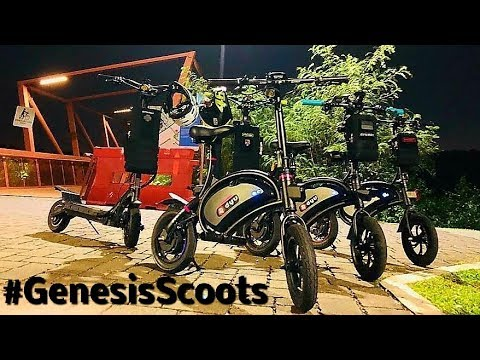 ASMR Night Scoot Synergy Scooters Synergy DYU Dualtron Electric Scooter #GenesisScoots RyanGenesis +