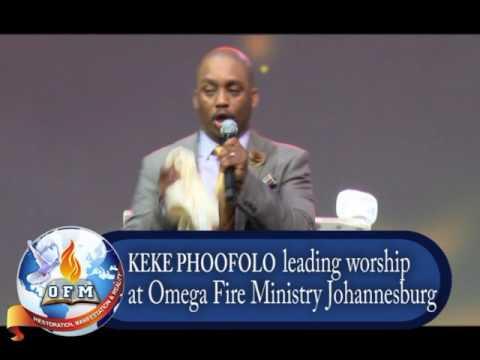 Keke Phoofolo - My soul says yes to the Lord (Omega Fire Ministry Johannesburg)