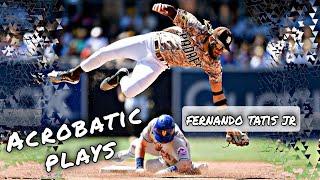 MLB \\ Tatis Jr Acrobatic Plays