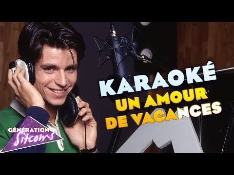 Christophe Rippert : Un amour de vacances (Karaoké officiel)