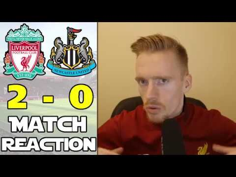 LIVERPOOL 2 NEWCASTLE 0   Fantastic Reds Sweep Aside Rafa's Toon Army!! Match Reaction