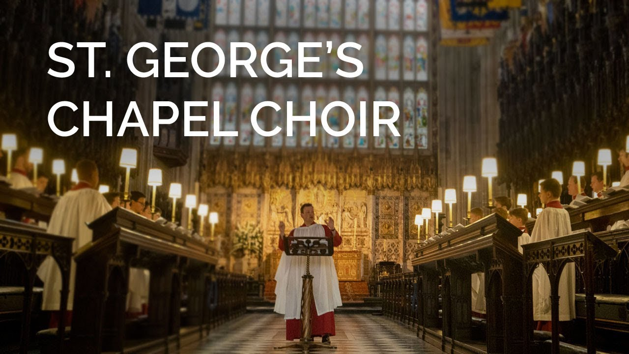 St. George's Chapel Choir sing Carol of The Bells at Windsor | Christmas 2018