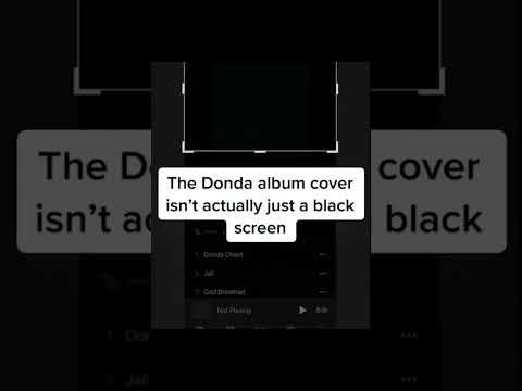 The Donda album cover has a hidden secret! Kayne is slick! #Short