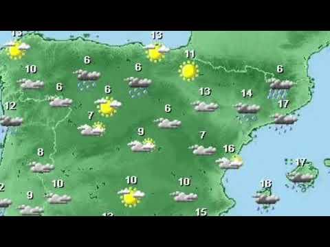Carte Espagne Meteo.Carte Meteo Devoir Espagnol