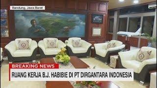Menengok Ruang Kerja BJ Habibie di PT Dirgantara Indonesia