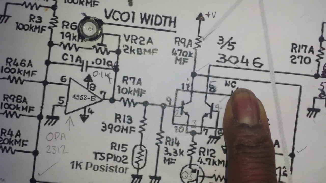 Diy Analog Synth Project Tutorial Part 2 The Exponential Converter Schematics Vco 3