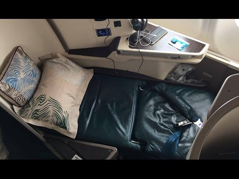 [UL891] SriLankan Airlines NEW A330-300 business class | Hong Kong to Bangkok