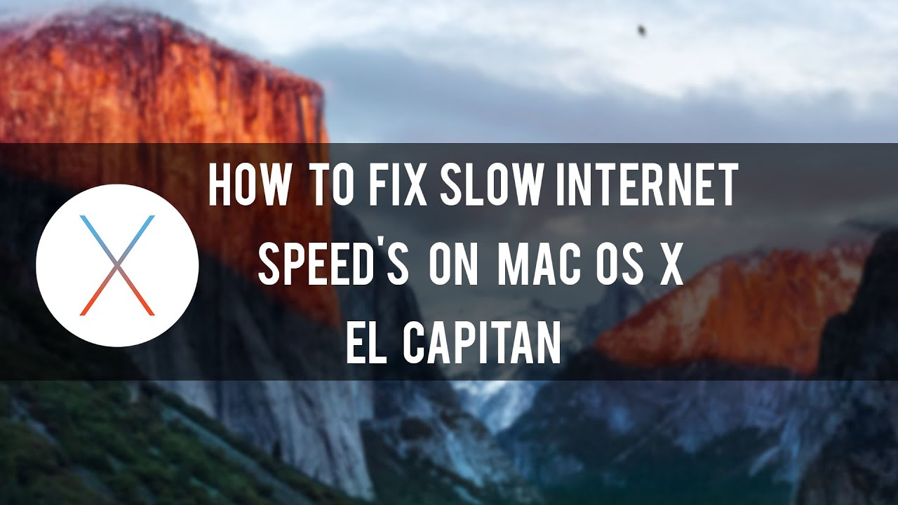 Fixing Slow Internet on Mac