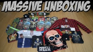 BIGGEST UNBOXING SO FAR !!! POWELL PERALTA Feat. CHARLIE BLAIR