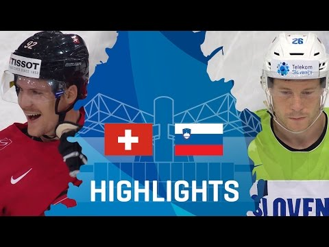 Switzerland - Slovenia   Highlights   #IIHFWorlds 2017