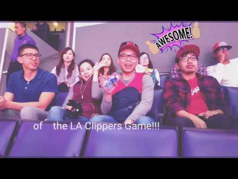 2017.03.01 - Olivia Thai LA Clippers National Anthem