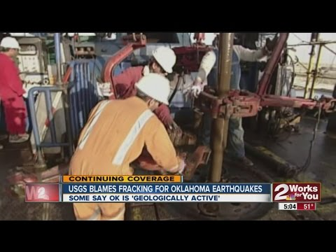 USGS Blames Fracking for Oklahoma Earthquakes