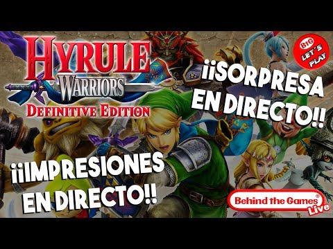 🔴 HYRULE WARRIORS: Definitive Edition ¡¡Primeras IMPRESIONES + SORPRESA en DIRECTO!!