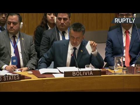 Reunión del Consejo de Seguridad de la ONU sobre la situación en Siria