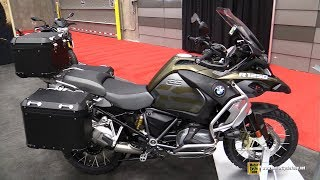 2019 BMW R1250 GS Adventure - Walkaround - Debut at 2019 Quebec Motorcycle Show