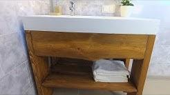 DIY Modern Bathroom Vanity
