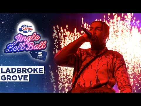 AJ Tracey - Ladbroke Grove (Live at Capital's Jingle Bell Ball 2019) | Capital