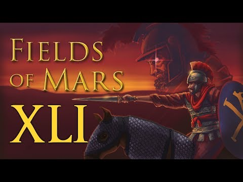 Fields of Mars #41   A Trojan Consul   TW Attila Roman Britain NLP