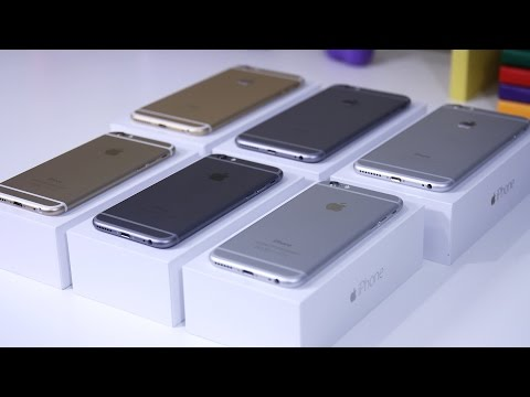 Ultimate iPhone 6 vs iPhone 6 Plus Unboxing: White (Silver) vs Black (Space Grey) vs Gold!