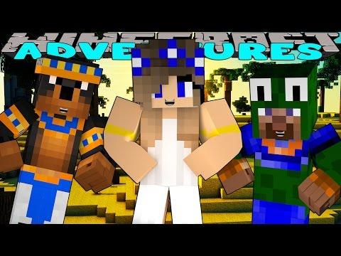 Minecraft-Little Carly Adventures-EGYPTIAN ADVENTURE w/Little Lizard