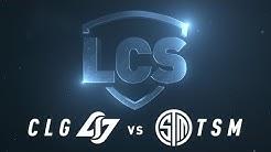TSM vs CLG  | Week 2 | Spring Split 2020 |  TSM vs. Counter Logic Gaming
