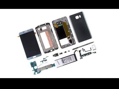 Galaxy Note 5 Teardown/Disassembly