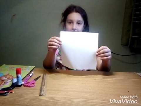 как сделать оригами гадалку из бумаги видео