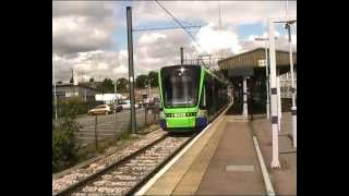 London Tramlink: Trams @ Elmers End Station 04-07-2012