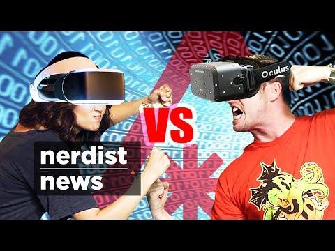 PS4's MORPHEUS vs OCULUS RIFT! (Nerdist News w/ Jessica Chobot)
