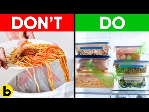 How to Reduce Food Waste and Save A Lot of Money