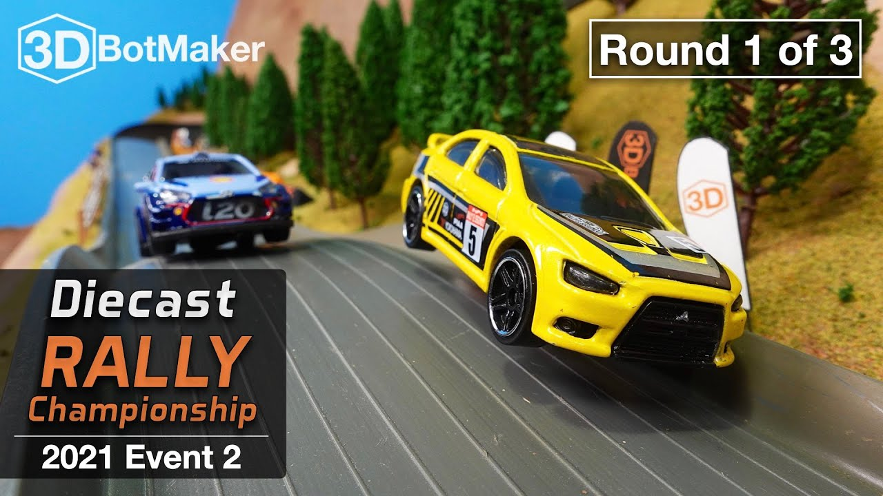 Diecast Rally Championship - Event 2 Round 1 of 3 - DRC Car Racing
