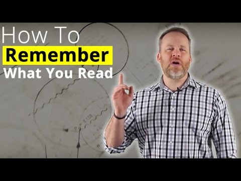 Remember What You Read - How To Memorize What You Read!