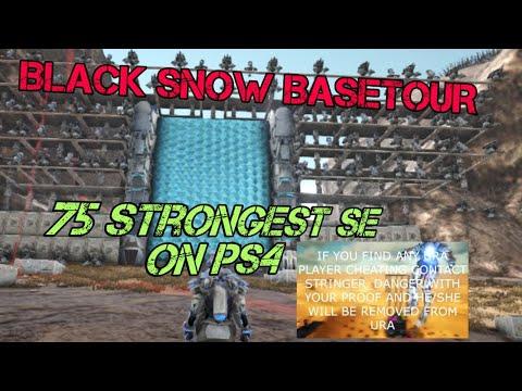 Black Snow BASETOUR SERVER 75 SE #ps4  a