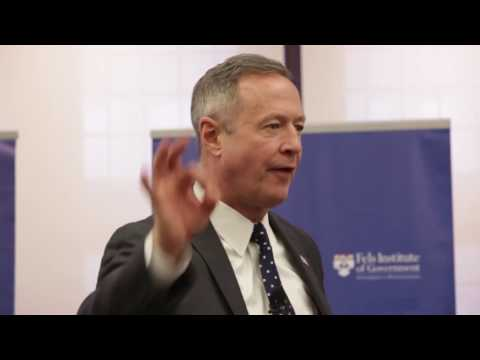 A Conversation with Martin O'Malley