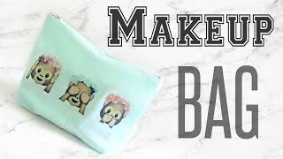 DIY Makeup Bag // Emoji DIY // DIY Gift // Veronica Marie