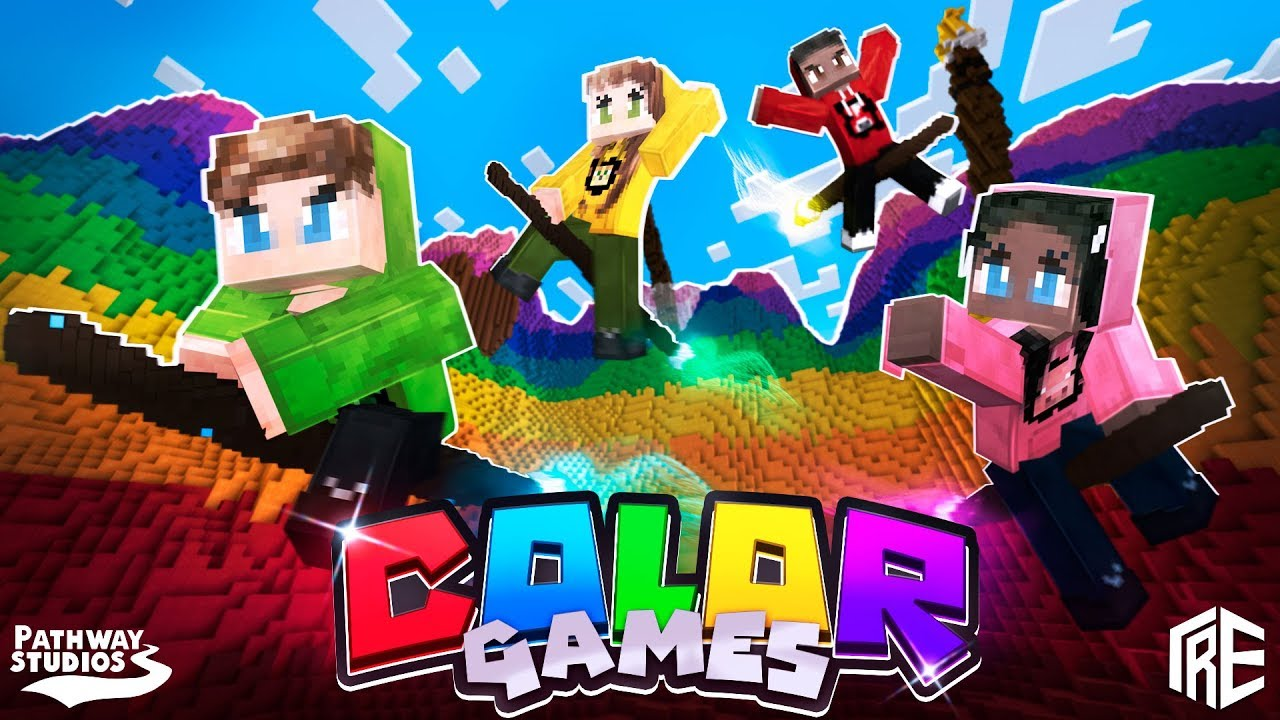 Color Games Minecraft Marketplace Color Based Minigames Youtube