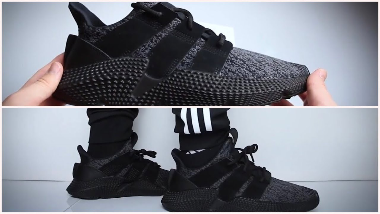 feo Más bien jaula  Adidas Prophere Triple Black - UNBOXING & ON FEET - YouTube