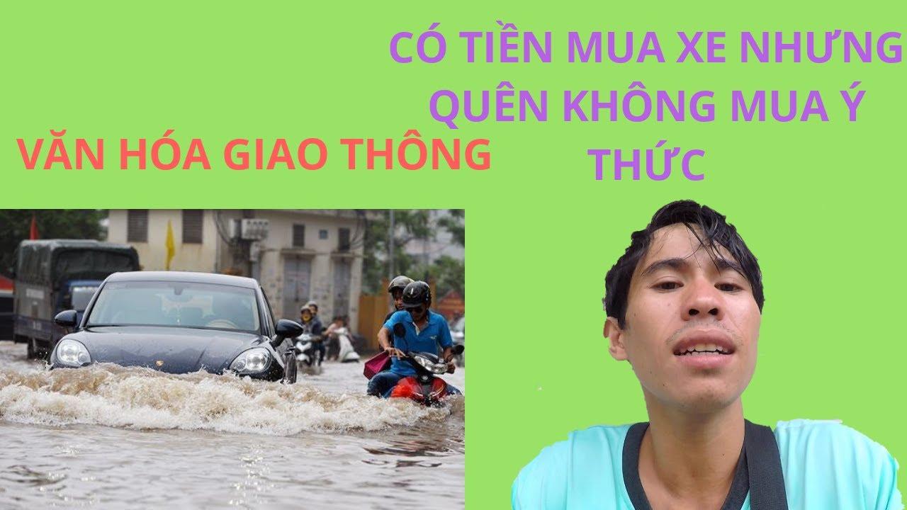 Thiện Shipper   Trời Mưa gặp mấy Thể loại Đi xe không có ý thức   Giao thông ngày mưa ở Sài Gòn