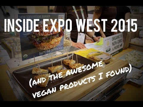 Inside Expo West 2015 (And the Awesome Vegan Products I found)