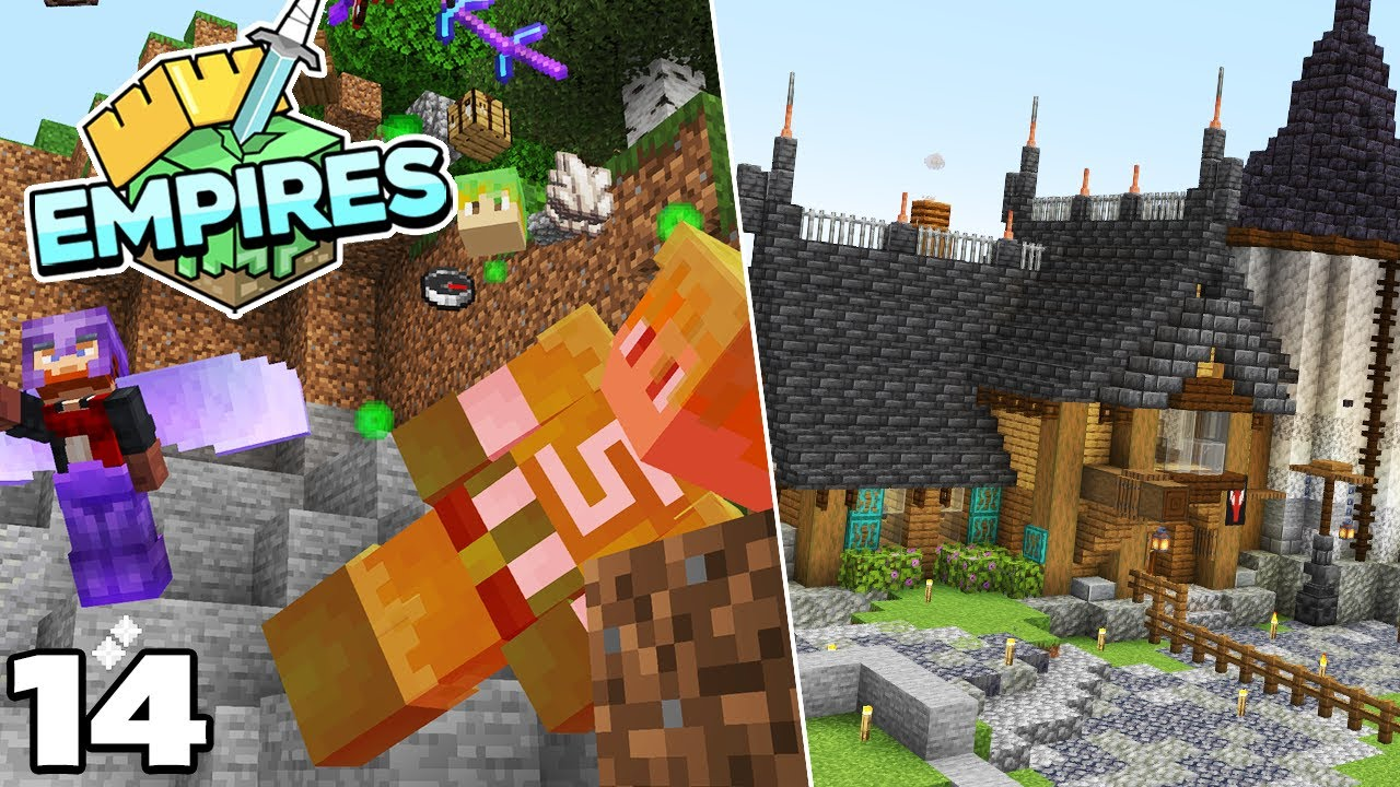 Empires SMP : Oops! I started a War! Minecraft 1.17 Survival