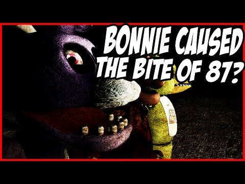 Five Nights At Freddys: Toy Bonnie Caused The Bite Of 1987!?