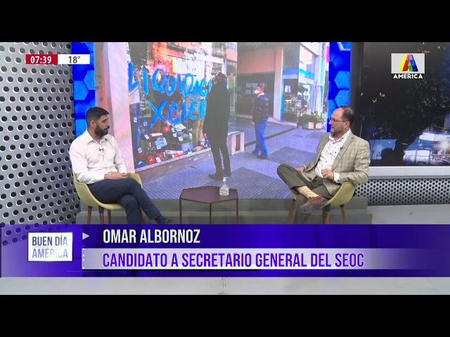 ELECCIONES EN SEOC: Omar Albornoz nos cuenta sus proyectos.