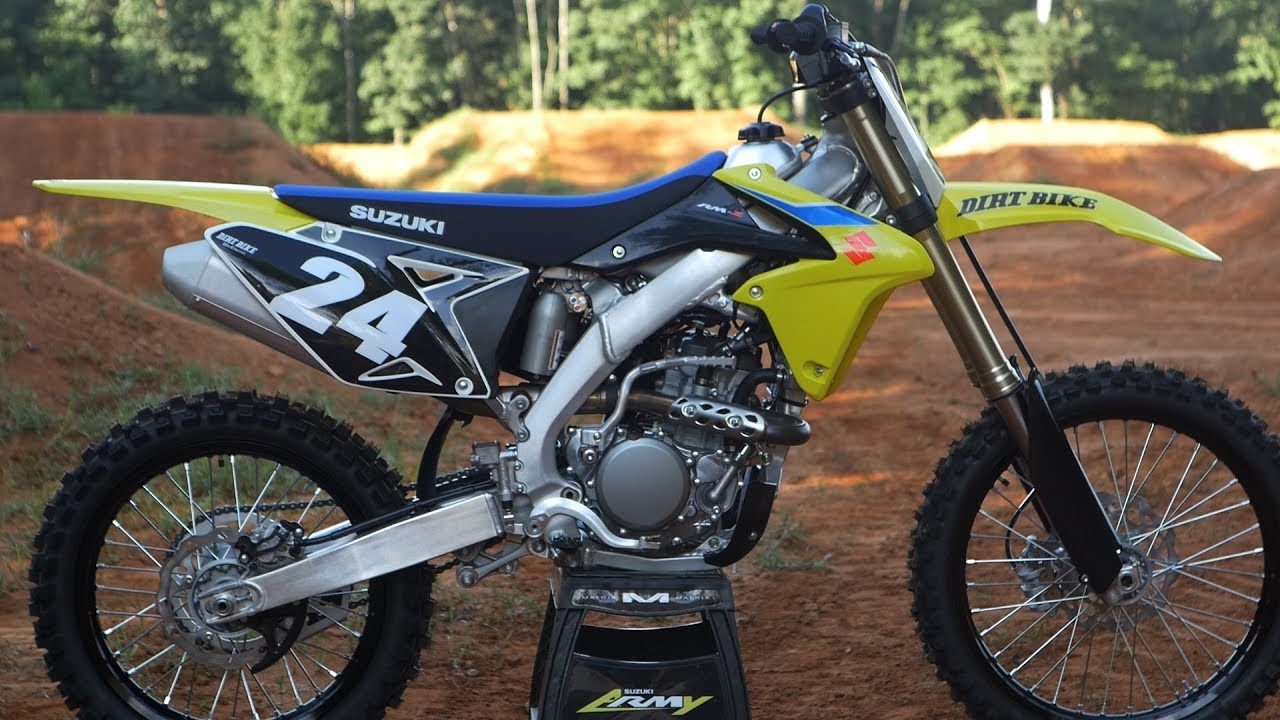 2018 suzuki rmz 250. interesting 250 2018 suzuki rmz250  dirt bike magazine throughout suzuki rmz 250