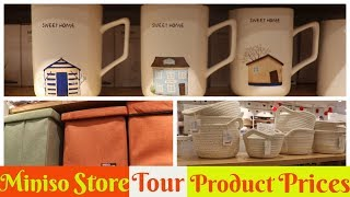 Miniso Store Tour with Product Prices | Hyderabad Miniso Japnese Store Tour | SuperStylish Namrata |