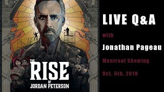 Rise Of Jordan Peterson - Live Q&A With Jonathan Pageau