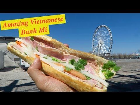 Amazing Banh Mi in Montreal Quebec   Drone Crash in Vieux-Port Vlog